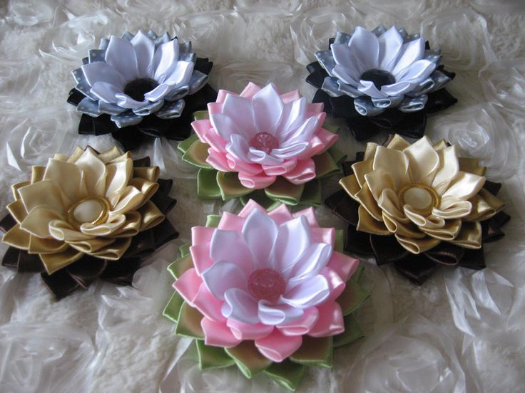 Kanzashi water lilies