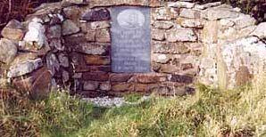 Famine Stone on Rathlin Island