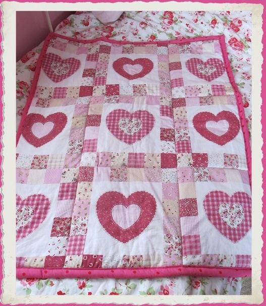 19 best cot quilt ideas images on Pinterest | Cot quilt, Baby cots ... : cot patchwork quilt patterns - Adamdwight.com