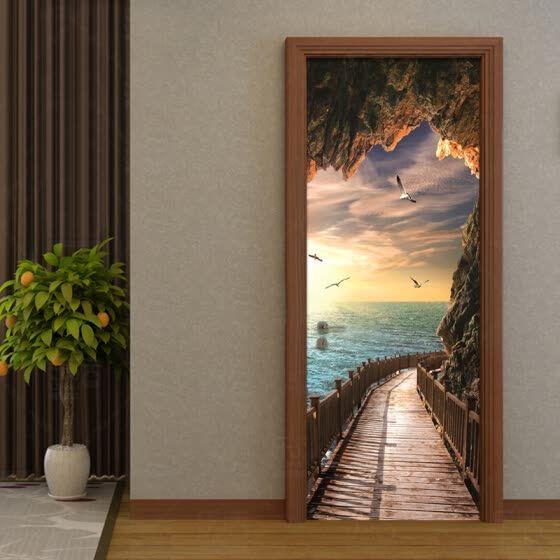 Online shopping for popular Wall Stickers & Murals – 3D Wallpaper Beautiful Seas…