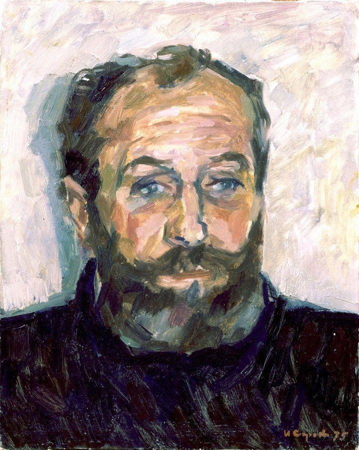 Сорокин Иван Васильевич -  Портрет Э. Г. Браговского. (1975)