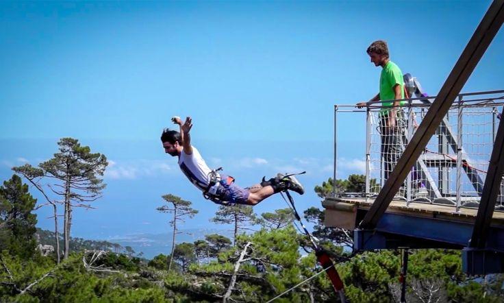 Via Ferrata en Corse (Bonifacio, Porto-Vecchio, Solenzara) : X'Jump