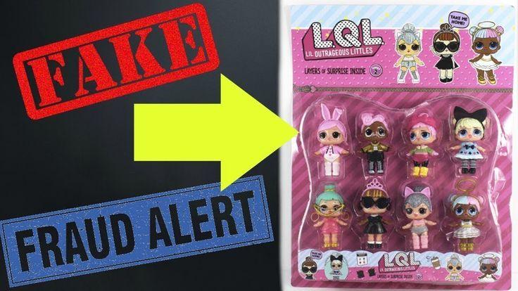 fake lol surprise dooll - Abriendo LOL Surpresa Falsa - LQL toys review