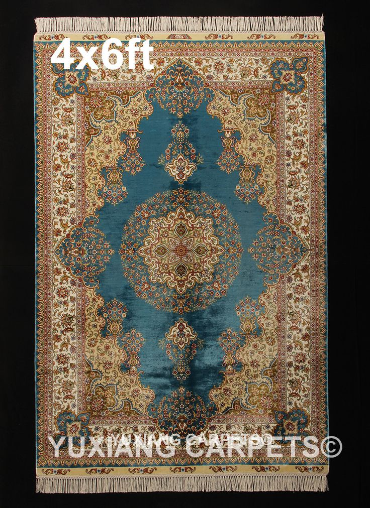 Yuxiang 4x6ft(122X183cm)silk hand knotted rug & carpet For more informations, please contact: Whatsapp&Wechat+8615537753703 E-Mail:service@yuxiangcarpets.com #Persianrug #Persiancarpet #Handmaderug #Handmadecarpet #Hand-maderug #Hand-madecarpet #Handknottedrug #Handknottedcarpet