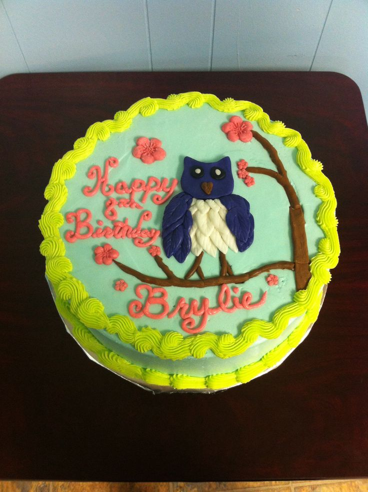 Easy Owl Cake Ideas