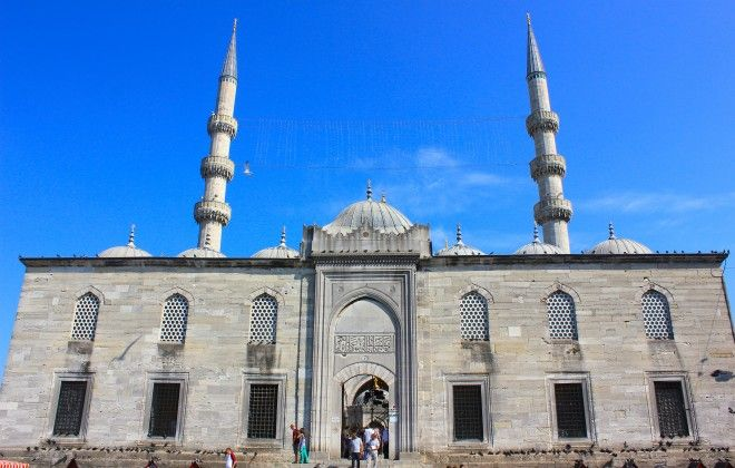 New Mosque, Istanbul, Turkey, Europe
