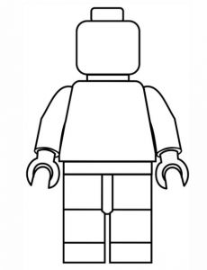 FREE LEGO Printable Coloring Page!
