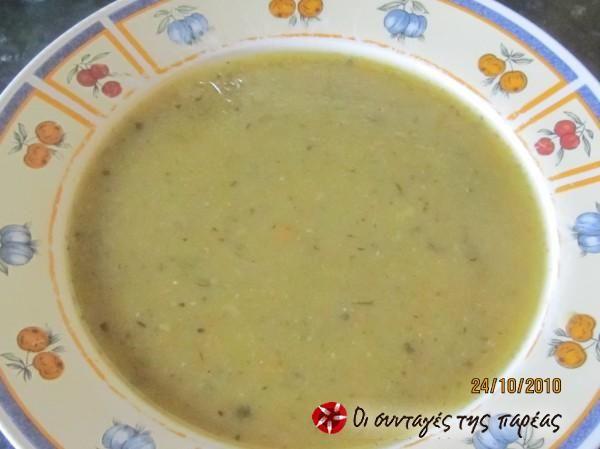 Βελουτέ σούπα λαχανικών #sintagespareas
