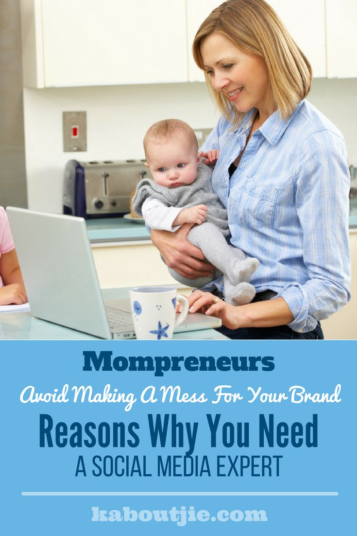 Mompreneurs - Reasons Why You Need A Social Media Expert    Building your own business while busy being mom takes time and dedication. While social media marketing may look simple enough, it takes up time and effort – plus there is more to social media marketing for your business than meets the eye. Here's why you need a social media expert for your Mompreneur:    #mompreneur #socialmediamarketing #smm #digitalmarketing #socialmedia
