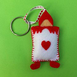 Mad Hatter Tea Party Ideas Mad Hatter Felt Keyring Patterns