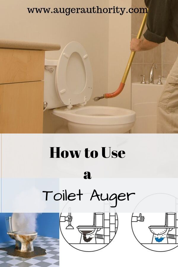 Never Fear An Auger Will Get Your Toilet Cleared Toilet Clogged Toilet Augers