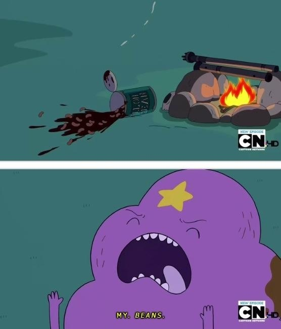 LSP from Adventure Time is my favorite cartoon character.