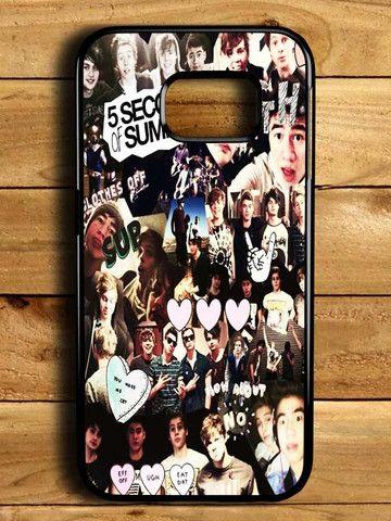 5sos Five Second Of Summer Samsung Galaxy S6 Edge Case