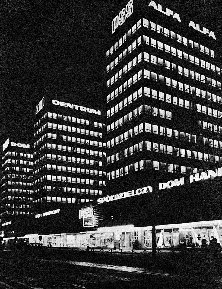 Poznan Poland, ulica Św. Marcin lata 70-te