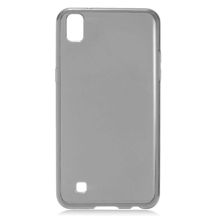 EGC Frosted Skin Slim-fit Flexible LG X Power Case - Smoke