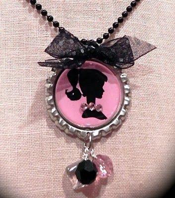 Brabie Bottle cap necklace