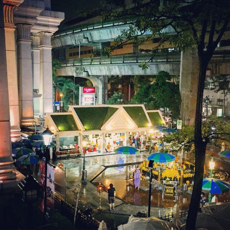 Erawan Shrine. Ratchaprasong Bangkok