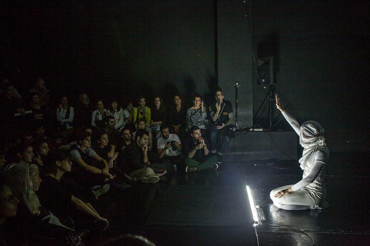 Photo…graphy: festival performance: Maria Sideri, Vibrant Matter