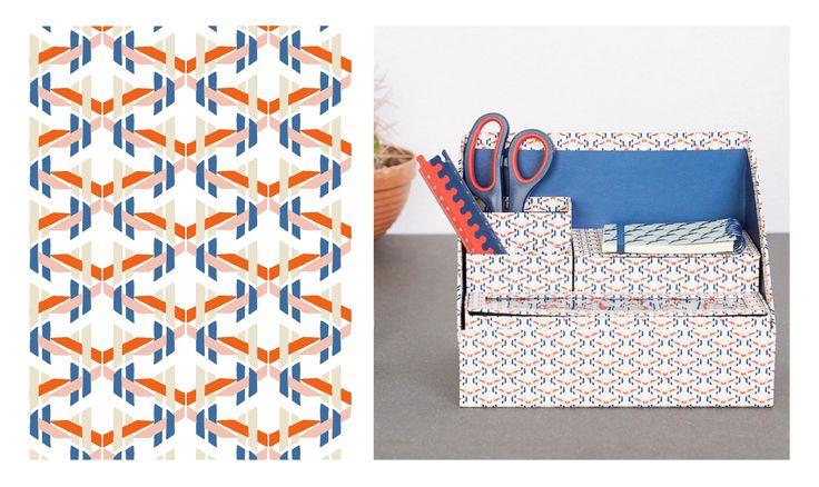 Nouvelle collection papeterie Printemps/été 2017 #mariewagnerdesign #monoprix #designtextile #papeterie