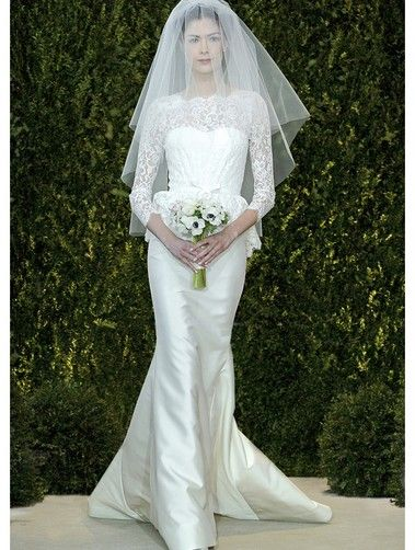 Carolina Herrera gown captures classic sensibility