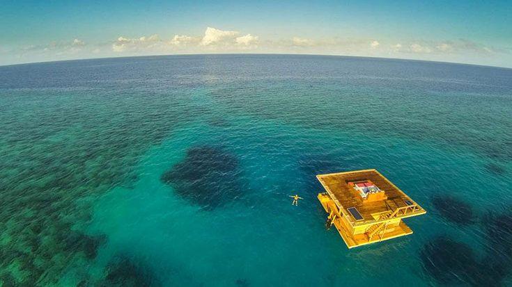 ВАфрике открылся подводный отель. Фото