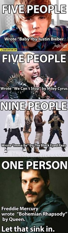 Is this the real life? Is this just fantasy? #queen #bohemian #rhapsody #justinbieber #mileycyrus #blackeyedpeas