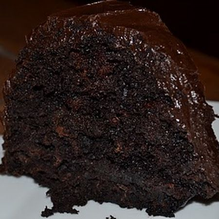 Double Chocolate Kahlua Cake with Fluffy Chocolate Kuhlua Frosting