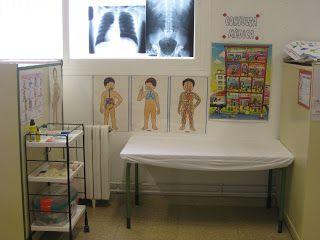 Racó de metges idea de distribució i decoració