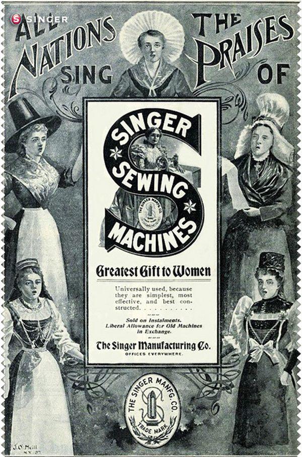 Singer máquinas #vintage #Singer #costura