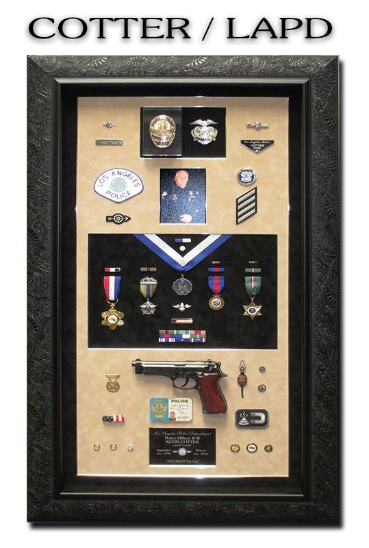 LAPD, Badge                                   Frame