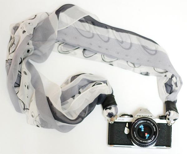 camera scarf strap 01 photo... my sister Sam would love this! Ingenious! ;)