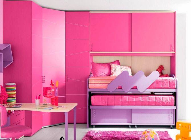 M s de 25 ideas incre bles sobre dormitorio lila en for Habitacion rosa para chicas