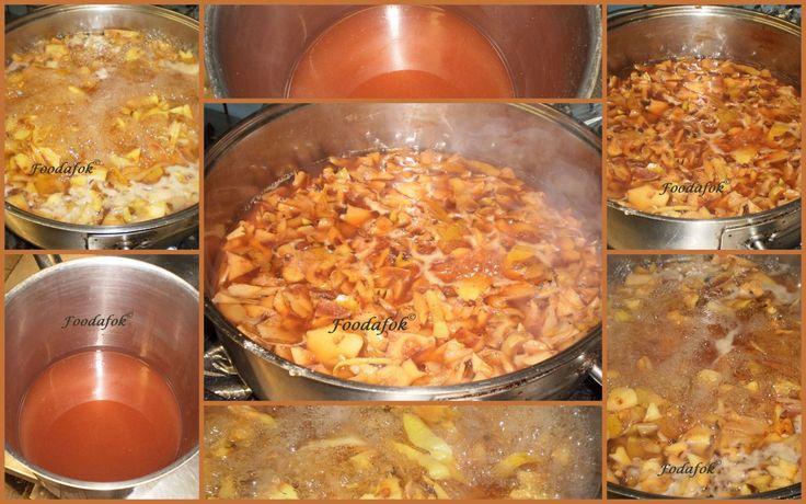 Foodafok: Pektin készítés