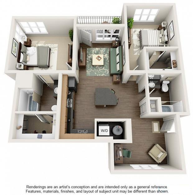 2 Beds 2 Baths Apartment For Rent In Boulder Co Apex 5510 In Boulder Co Apartment Layout Apartment Floor Plans Apartment Plans