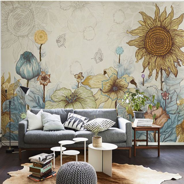 Elegant Wallpaper For Wall: 501 Best Images About Art Wallpaper Room Decor On