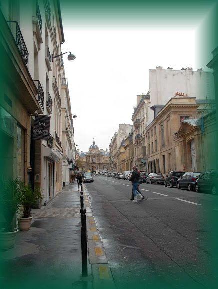 Paris, rue de Tournon * House of Mlle Lenormand * Hungarian Sibyls in Paris, remembering mlle Lenormand, esoteric Tour * www.lenormand.hu