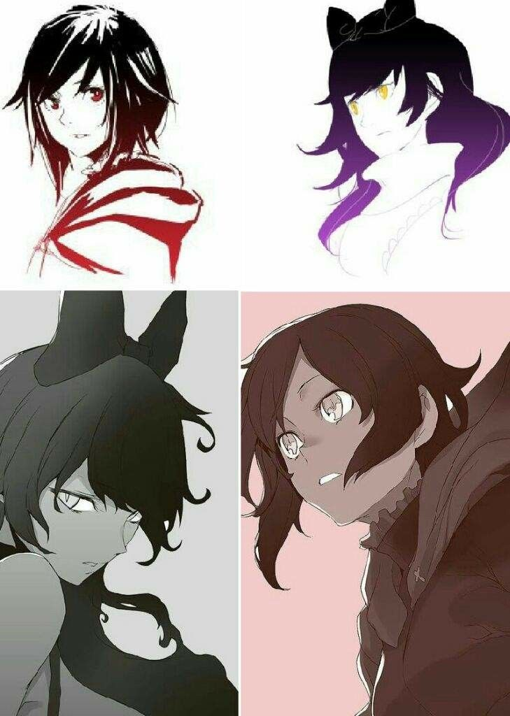 Pin by Winter wolf on Rwby | Rwby, Rwby ships, Rwby blake