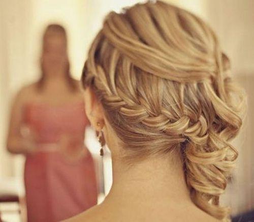 Frisur für Hochzeiten