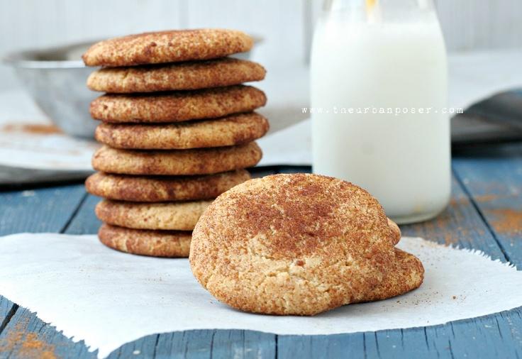 Egg/Grain/Gluten/Dairy Free SnickerdoodlesEggs Grains Gluten Dairy Free, Urban Poser, Free Recipe, Coconut Oil, Snickerdoodles Cookies, Grains Free, Paleo Snickerdoodles, Gluten Free, Almond Flour