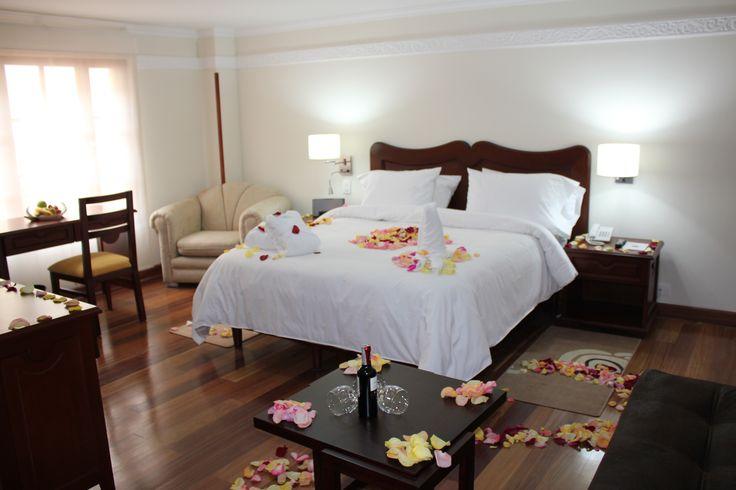 habitación noche romantica