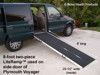 portable wheelchair ramps (perhaps...)