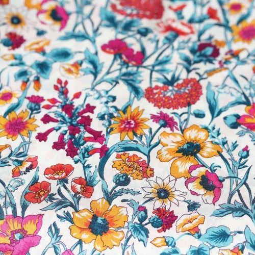 Liberty Rachel Multi 100% Tana Lawn Fabric