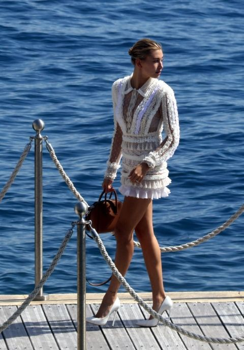 The best celebrity sightings on the streets of Cannes: Hailey Baldwin (Slide 5)