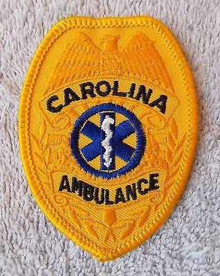 vintage-West-Columbia-SC-South-Carolina-Ambulance-badge-style-patch-NICE