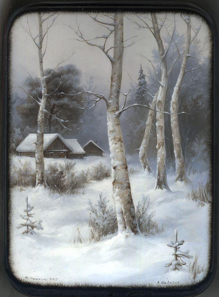 Зимний пейзаж.Федоскино.