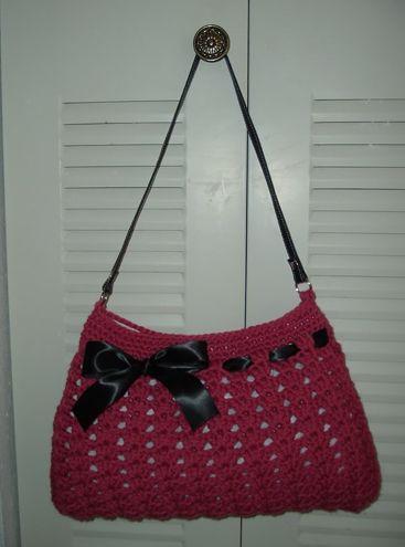 Crochet Pattern: Perfect Fit Hobo Bag