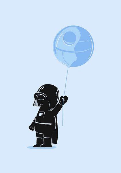 Baby Vader…