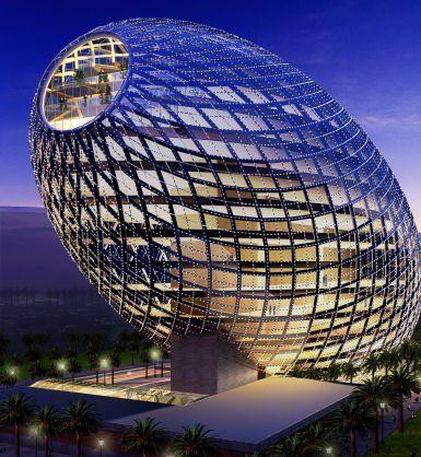 Mumbai, India ~ The Egg Office Building  Denise O'Dwyer Feng Shui London UK  www.SpaceWorksFengShui.com