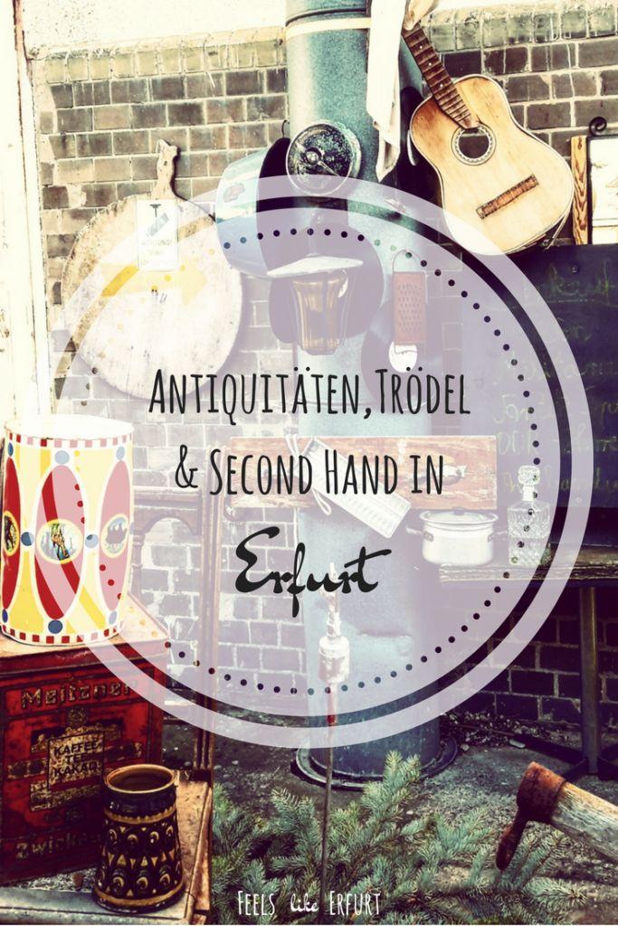 Second Hand- und Vintage-Liebe in #Erfurt. Hier gibt es ein paar gute Adressen für deinen nächsten Trödel-Bummel.