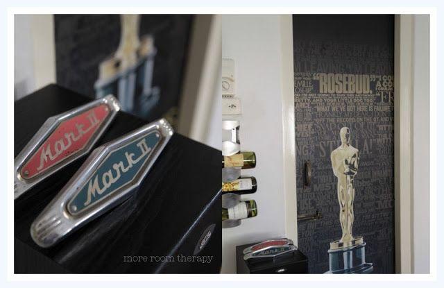 Indian home Decor- entertainment room, Oscars